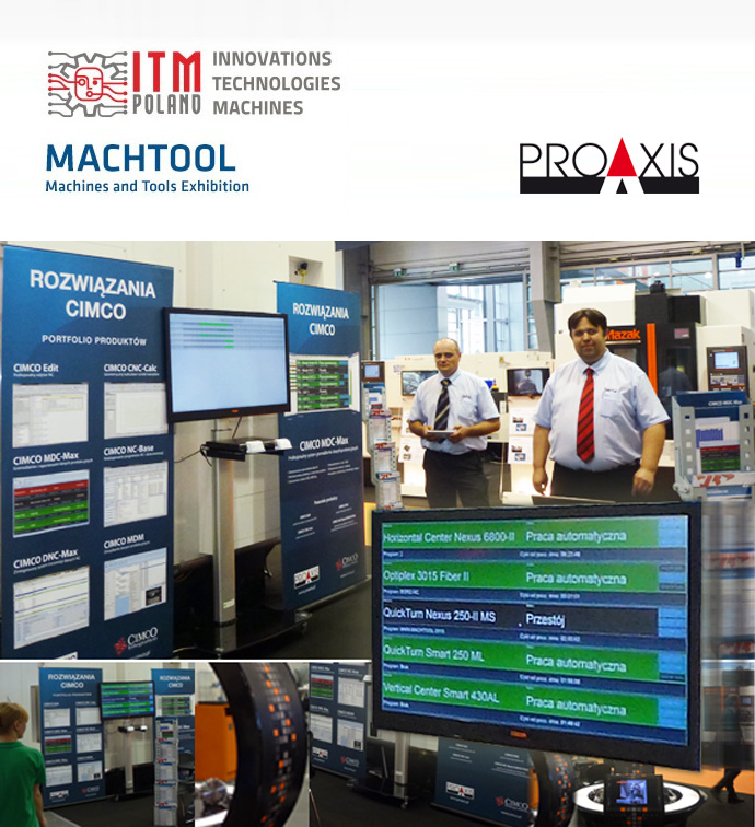 CIMCO at MACHTOOL 2015