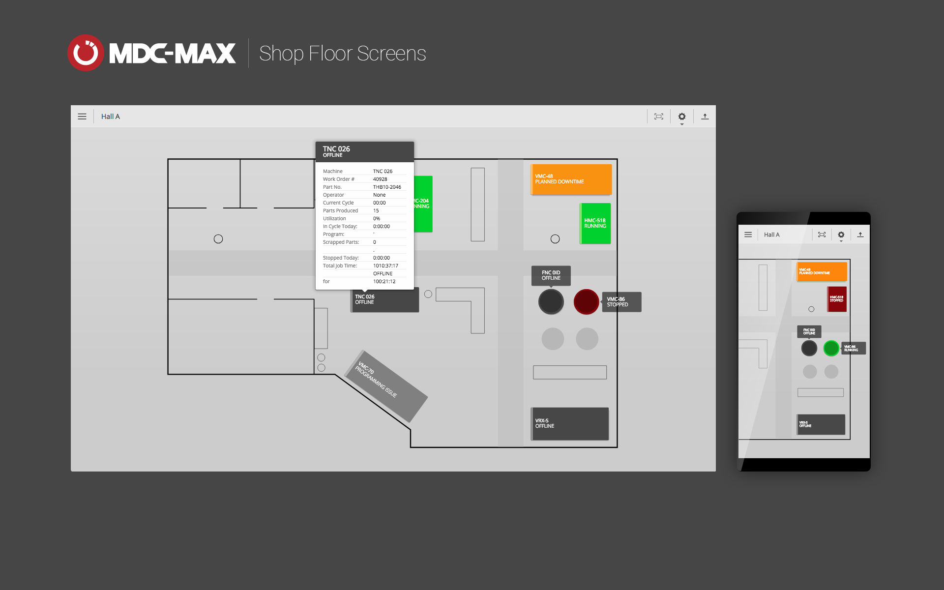 Shop Floor Screens for MDC-Max released | CIMCO